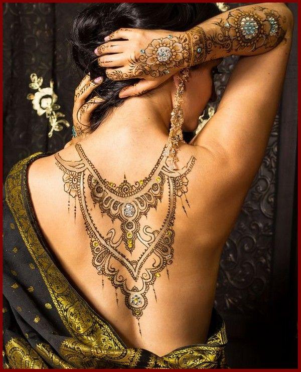 Latest Hot Full Body Girls Mehndi Designs 20167 Jpg 600 742 Back Henna Henna Tattoo Designs Henna Body Art