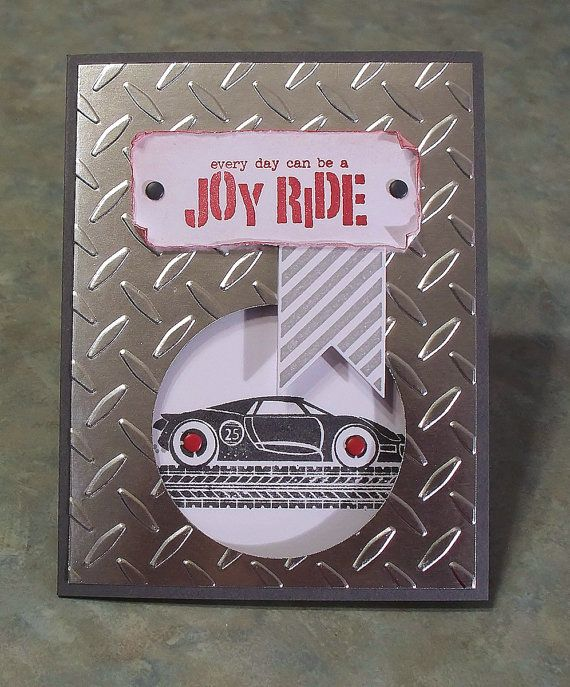 Stampin Up Rev Up The Fun Birthday Card Race Car Cards