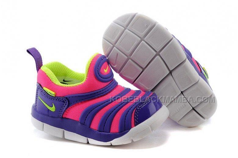 new concept be47d 87d43 Nike Anti Skid Kids Wearable Breathable Caterpillar Running Shoes Purple  Pink Fluorescent Green, Price  - Air Jordan Shoes, New Jordan Shoes,  Michael Jordan ...