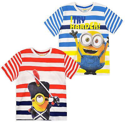 Despicable Me Boys Shorty Pajama 3-8 Years