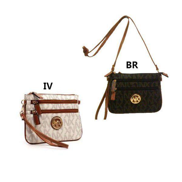 Handbags Women's Multi-Zippered Crossbody Bag