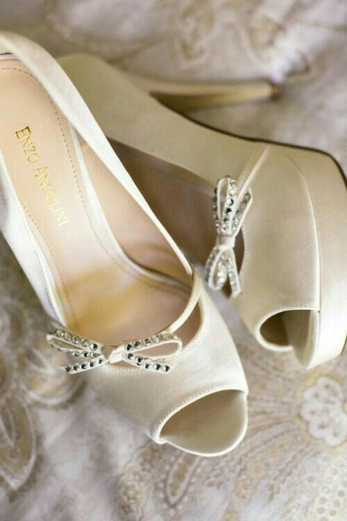 Love Story Wedding Grey Pink Shoes Bridal Dream