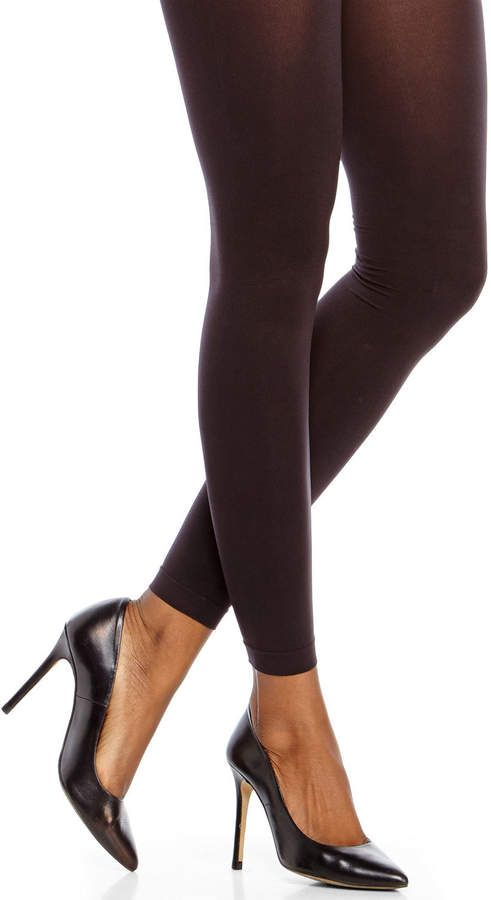 184c161ba420a Hue Black Control Top Ultimate Opaque Footless Tights in 2019 ...