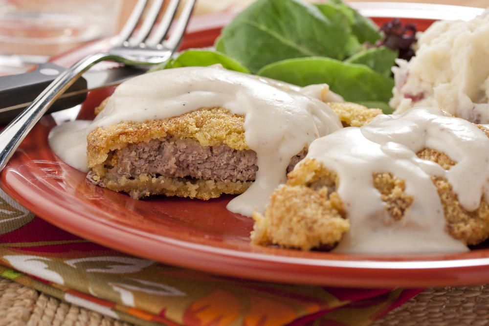 Country bumpkin fried steak fried steak steak and easy skillet meals beef dishes forumfinder Gallery