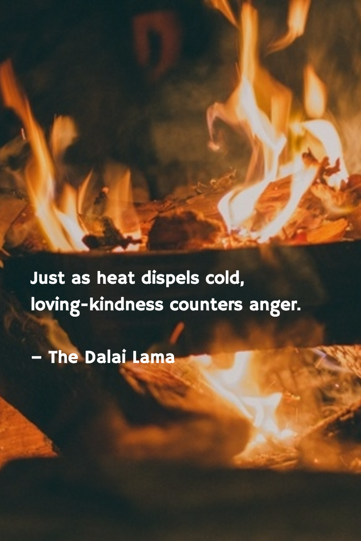 Loving Kindness Quotes Just As Heat Dispels Cold Lovingkindness Counters Anger The