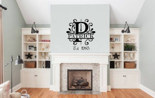 Family name wall decor wedding also  personal favorite from my etsy shop https listing rh pinterest