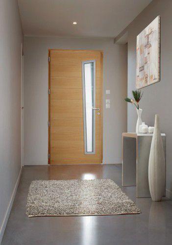 Porte d entr e comment bien la choisir portes bois et for Luminaire porte entree