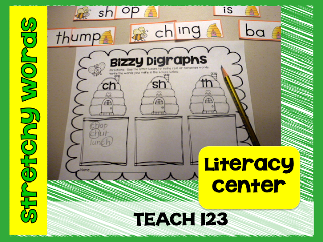 Reading R.T.I.  - fun hands-on activities that can be used in small group or set up as a center. (paid)