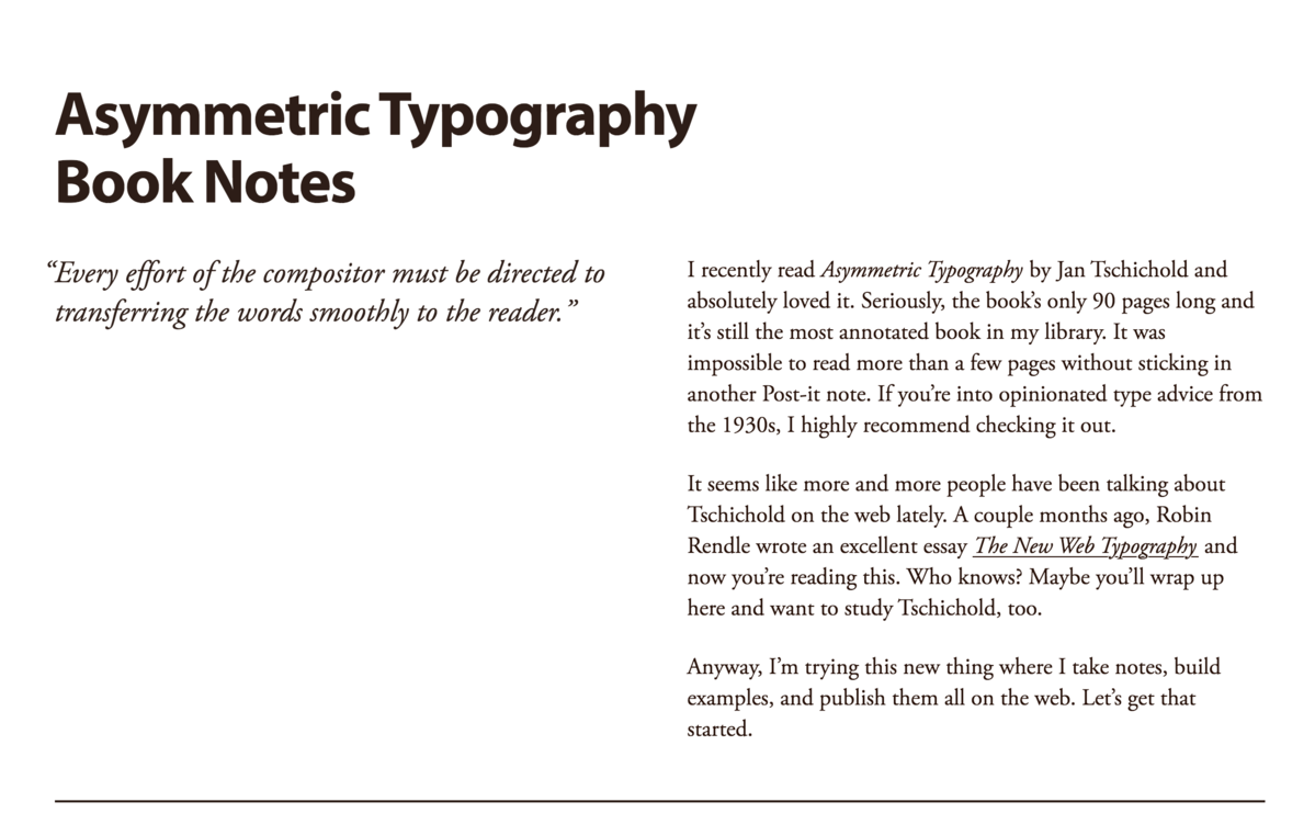 Adobe Garamond with Myriad Pro | Web typography | Typography