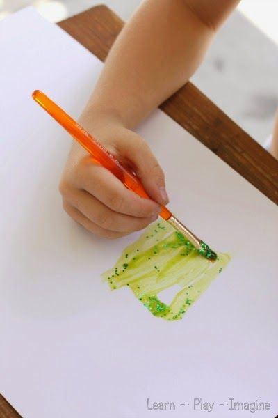 How To Make Sparkle Paints Corn Syrup Coloring Either