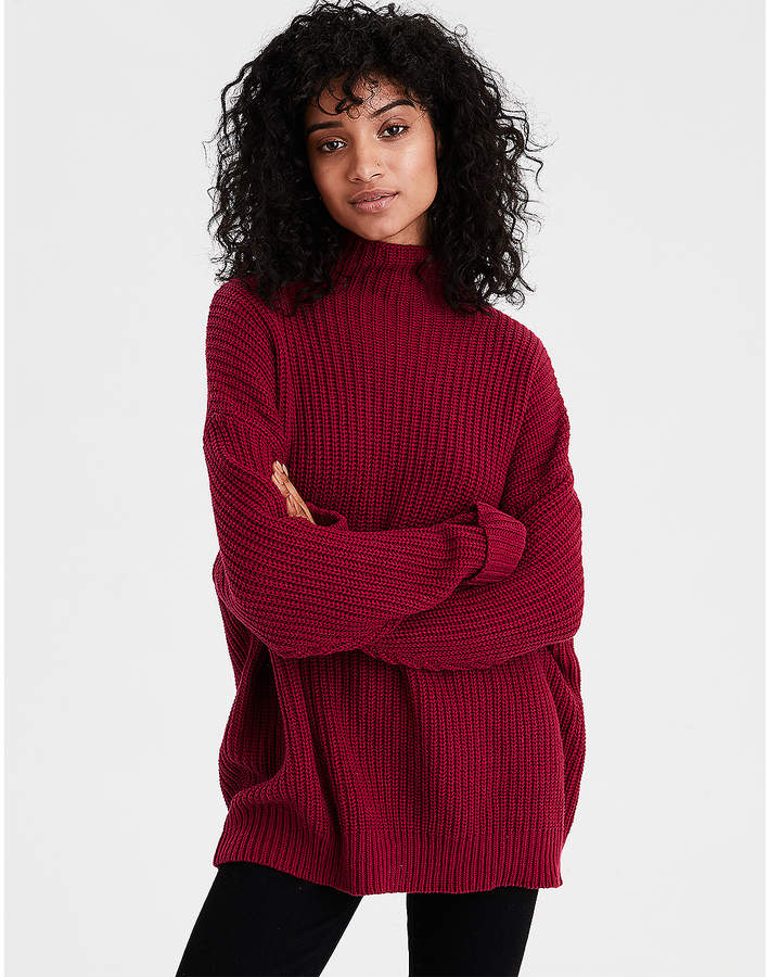 65963937c24 American Eagle AE Slouchy Turtleneck Sweater