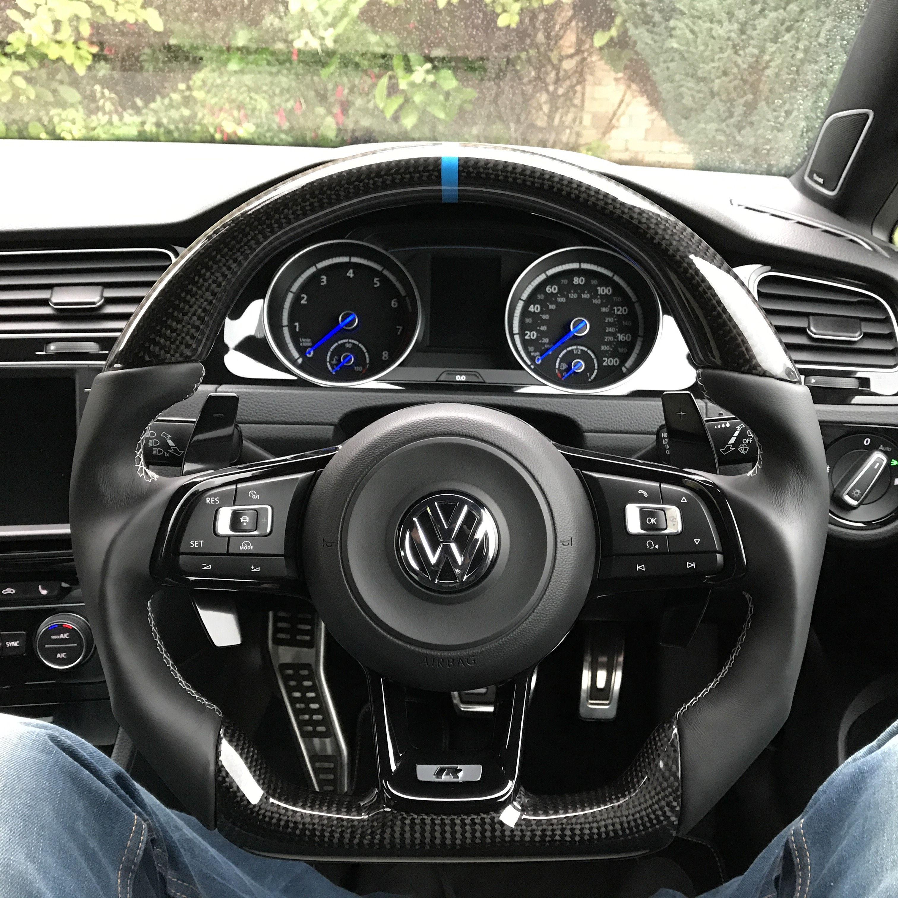Here It Is Vw Golf R Custom Steering Wheel For Stevie Wales