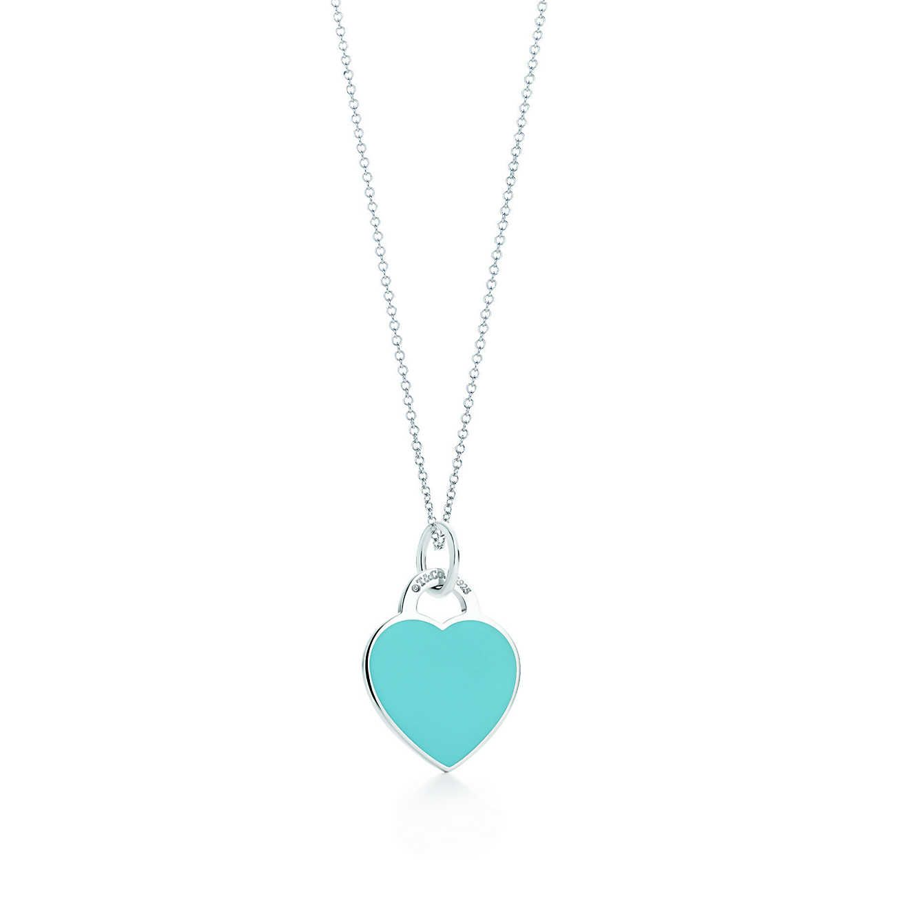 c5b29d52f ($225) $175 + $50 Return to Tiffany™<br>heart tag charm and chain/ Medium  Size