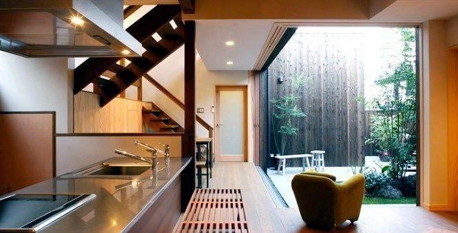 Küche - Modern Japanese Kitchen Interior Design Apartamento - sofa für küche