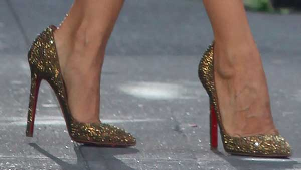 sparkly Louboutins