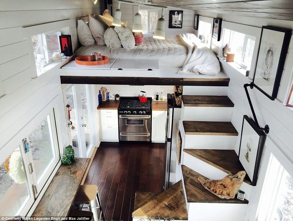 San Francisco Couple Live In 162sqft Trailer House That Cost $80k | Mail  Online, San Francisco And Tiny Houses