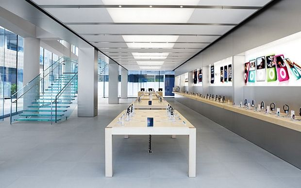 5 Most Beautiful Apple Stores From All Around The World Apple Store Online Store Design Store Design