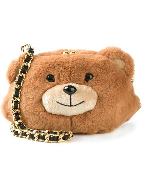 À Teddy BearBags Sac BandoulièreEt Bandoulière Moschino m0vN8Own