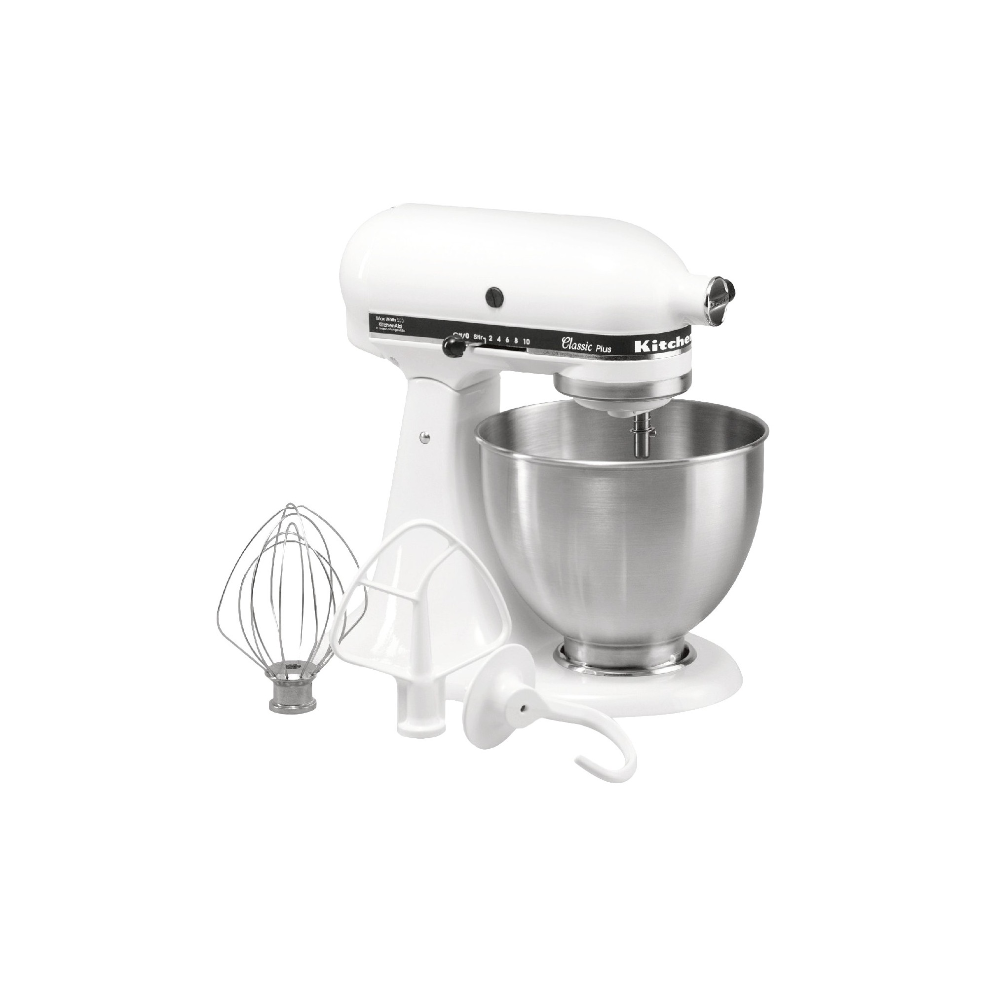Kitchenaid classic plus 45qt stand mixer white ksm75