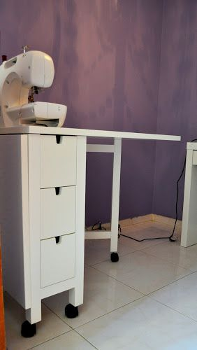 What S Up I M Jules Ikea Norden Table Sewing Table Ikea Folding Table