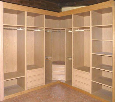 Vestidores modernos para espacios peque os buscar con for Closet para cuartos matrimoniales