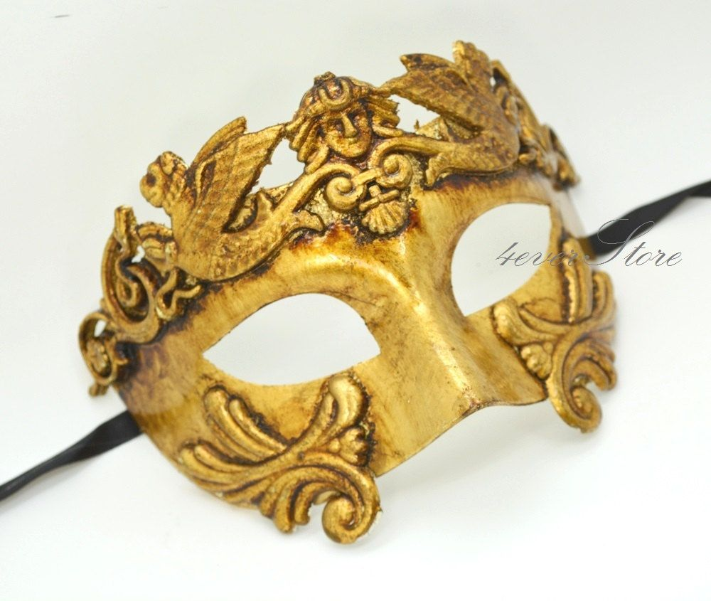 Roman Warrior Venetian Masquerade Mask - Greek Venetian Masquerade ...