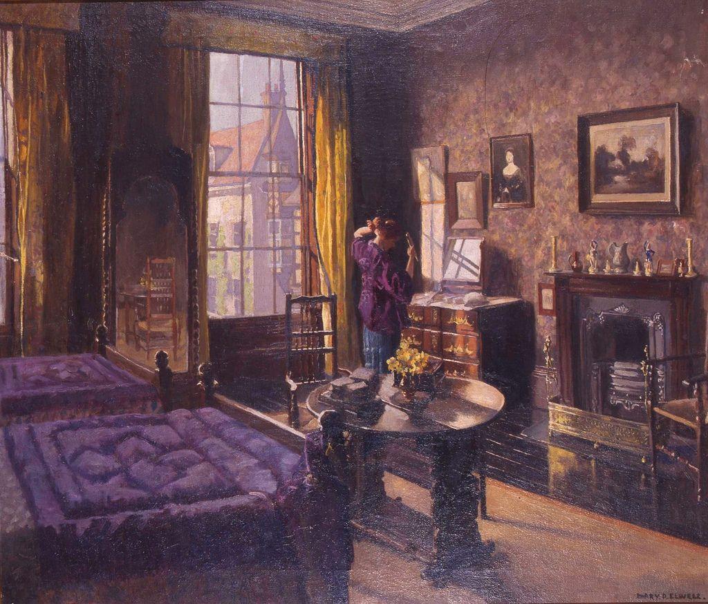 Bedroom Barhouse Beverley by Mary Dawson Elwell