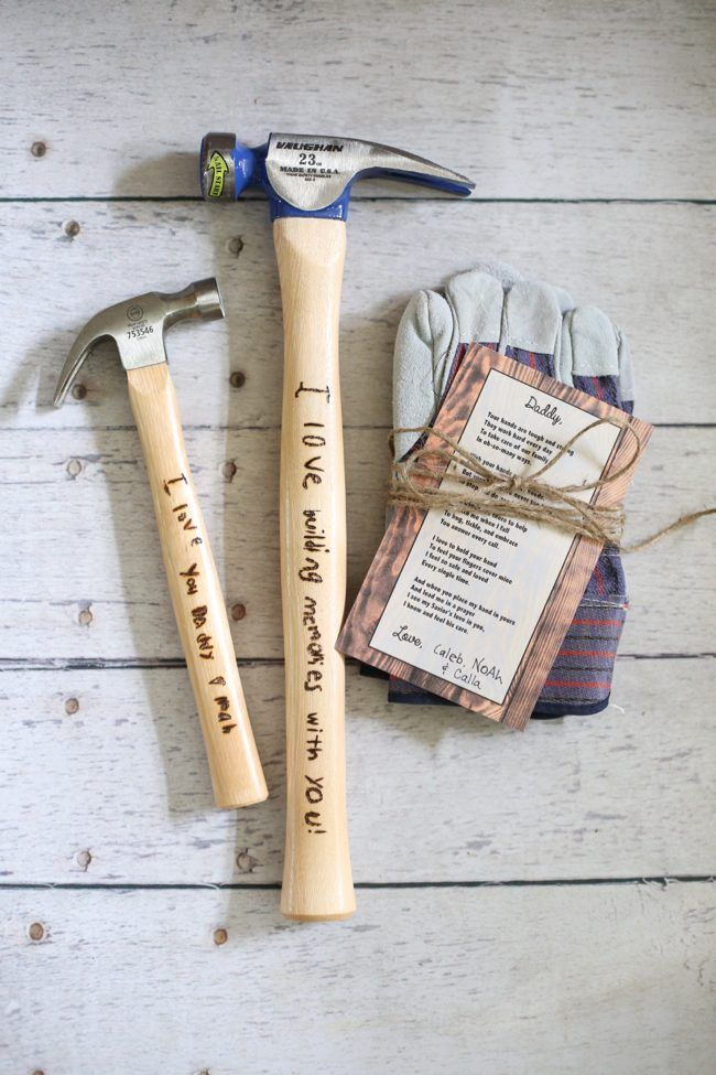 Personalized Engraved Hammer For Dad Cool Fathers Day