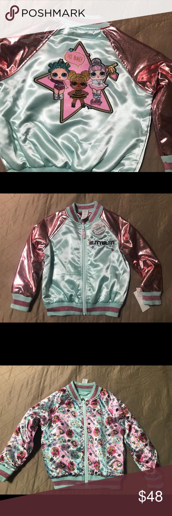 Lol Girls Reversible Jacket Size Xs Lol Surprise Girls Reversible Jacket Brand New Mga Jackets Coats Utility Jacket Reversible Jackets Jackets Jacket Brands [ 1740 x 580 Pixel ]