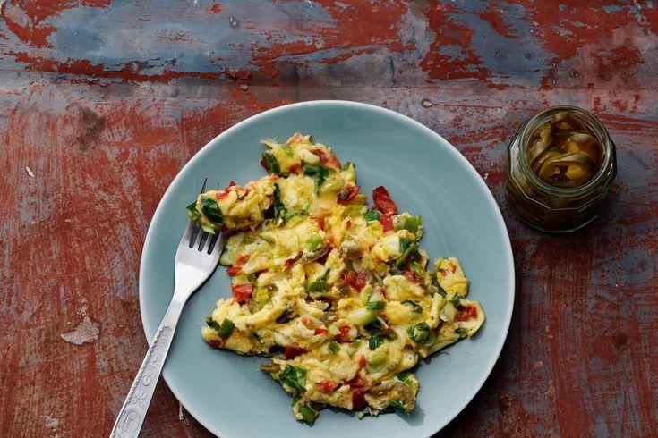 Keto Mexican Scrambled Eggs 2g – Recipes. #ketorecipes #keto #ketodiet #ketogenic #ketogenicdiet #he...