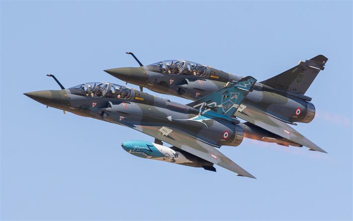 Download Wallpapers Dassault Rafale Pair Of Military