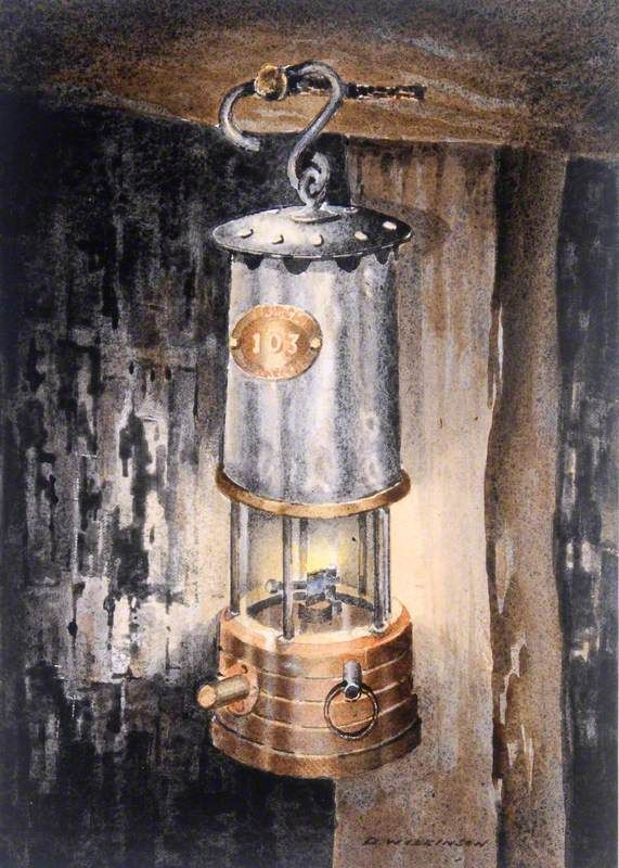Miners Lamp Coal Mining Images Not Just From Apedale Heritage Centre Art Uk Lamp Tattoo Coal Miners