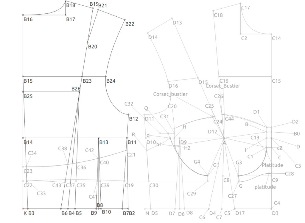 Valentina Pattern Drafting Pinterest Pattern Drafting Sewing