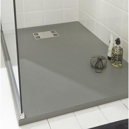 receveur de douche slate gris extra