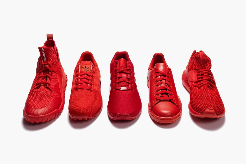 adidas stan smith rouge foot locker
