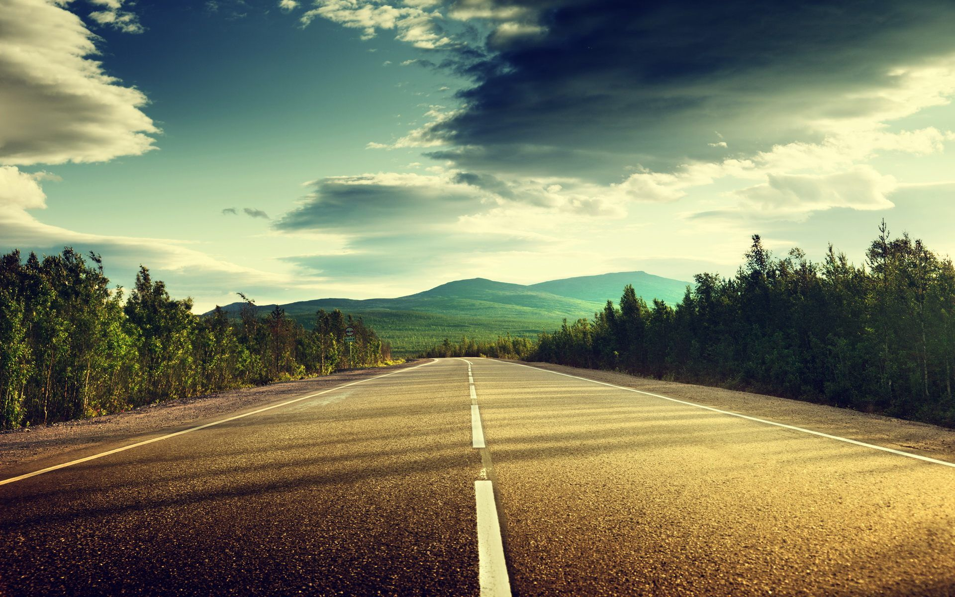 Road Wallpaper High Quality Resolution | Landscape Wallpapers in 2019 | Landscape wallpaper, Pc ...
