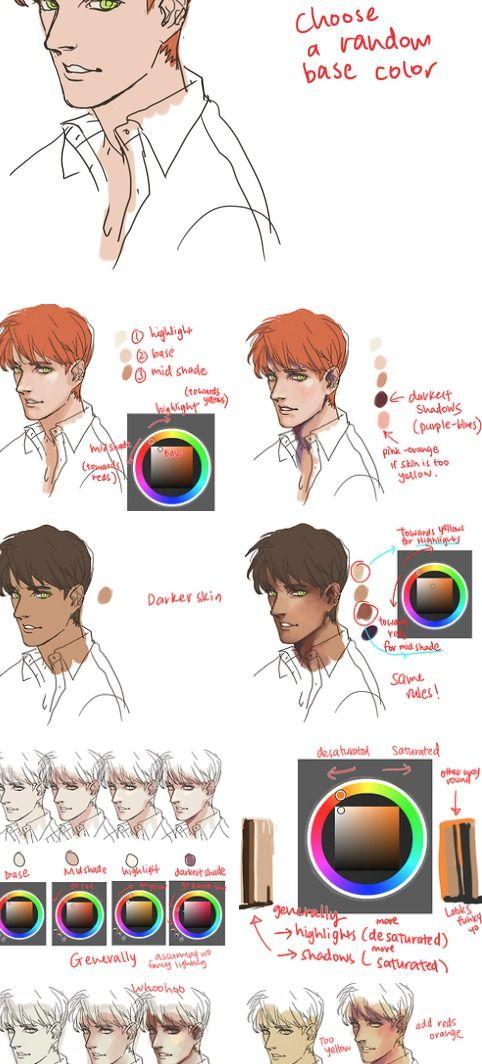Coloring Tutorial Tumblr