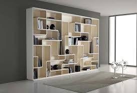 Bücherregal modern-weiß Holz-asymmetrisch Sessel bequem   petiteamie ...