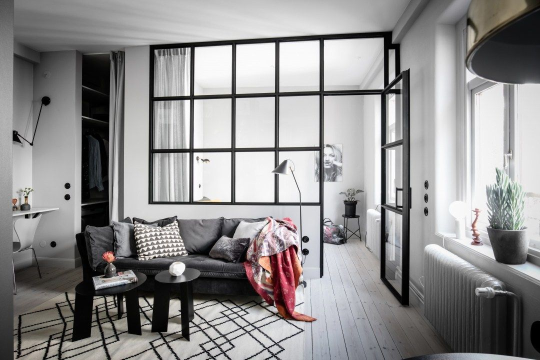 Puertas y muebles del mismo color que la pared interior design pinterest armario blanco - Puerta terraza ...