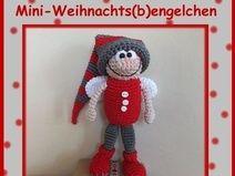 Häkelanleitung Mini Weihnachtsbengelchen Engel Kerst Amigurumi