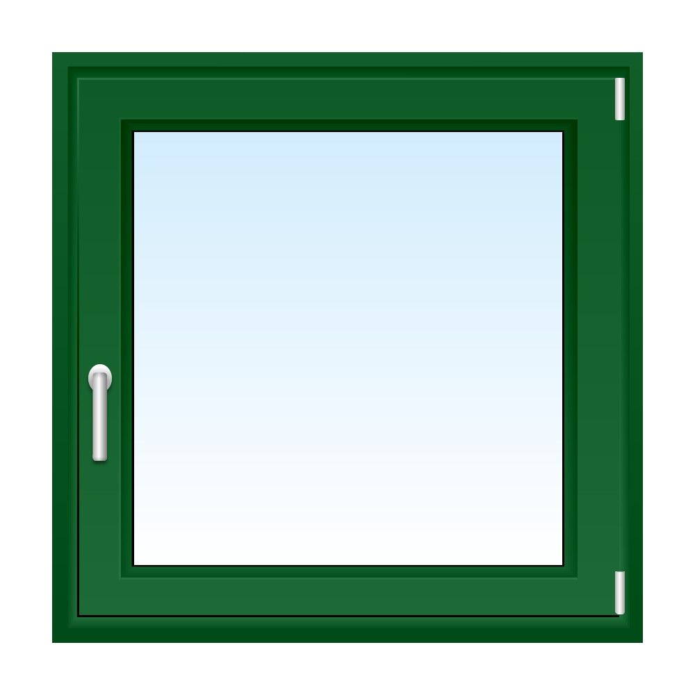 Kunststofffenster In Grun Fenster Anthrazit Fensterfarbe Fenster