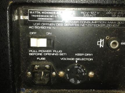 MusikinstrumenVerstärker Hohner IKV120 in Bayern