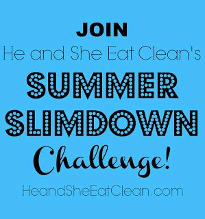Most people get out of their routines and veer off track over the summer and we do not want that to happen to you! We have created a Summer Slimdown Challenge that is 12 weeks long and will give you your exact workout plan for the entire summer! #heandsheeatclean #summerslimdown #challenge