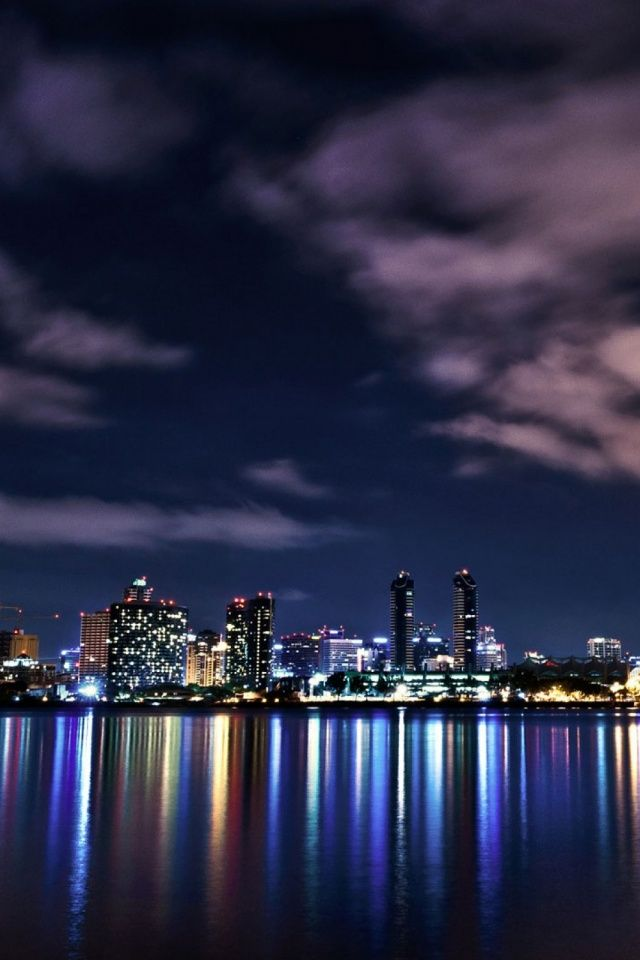 640 London Skyline At Night L Yeah City Wallpaper