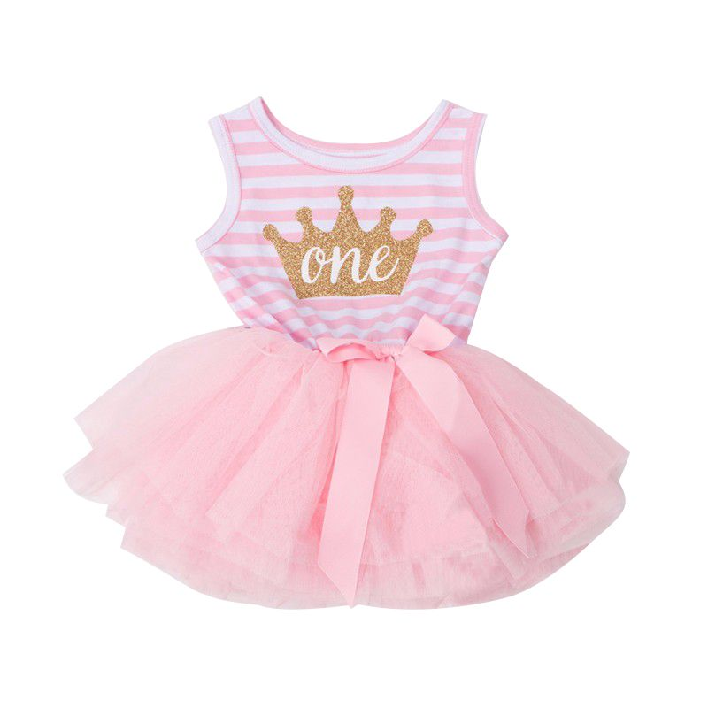 PENATE Toddle Baby Girl Princess Dress Soft Lace Skirt Robe Birthday Sundress
