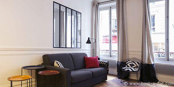 Location appartement 1 chambre Paris rue de Calais 9ème