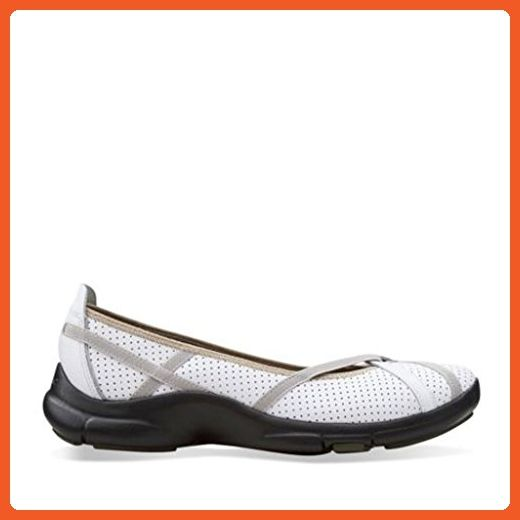 437a62c1acb1 Privo by Clarks Womens P-Berry White Casual Flat 5 B - Medium - Flats for  women ( Amazon Partner-Link)