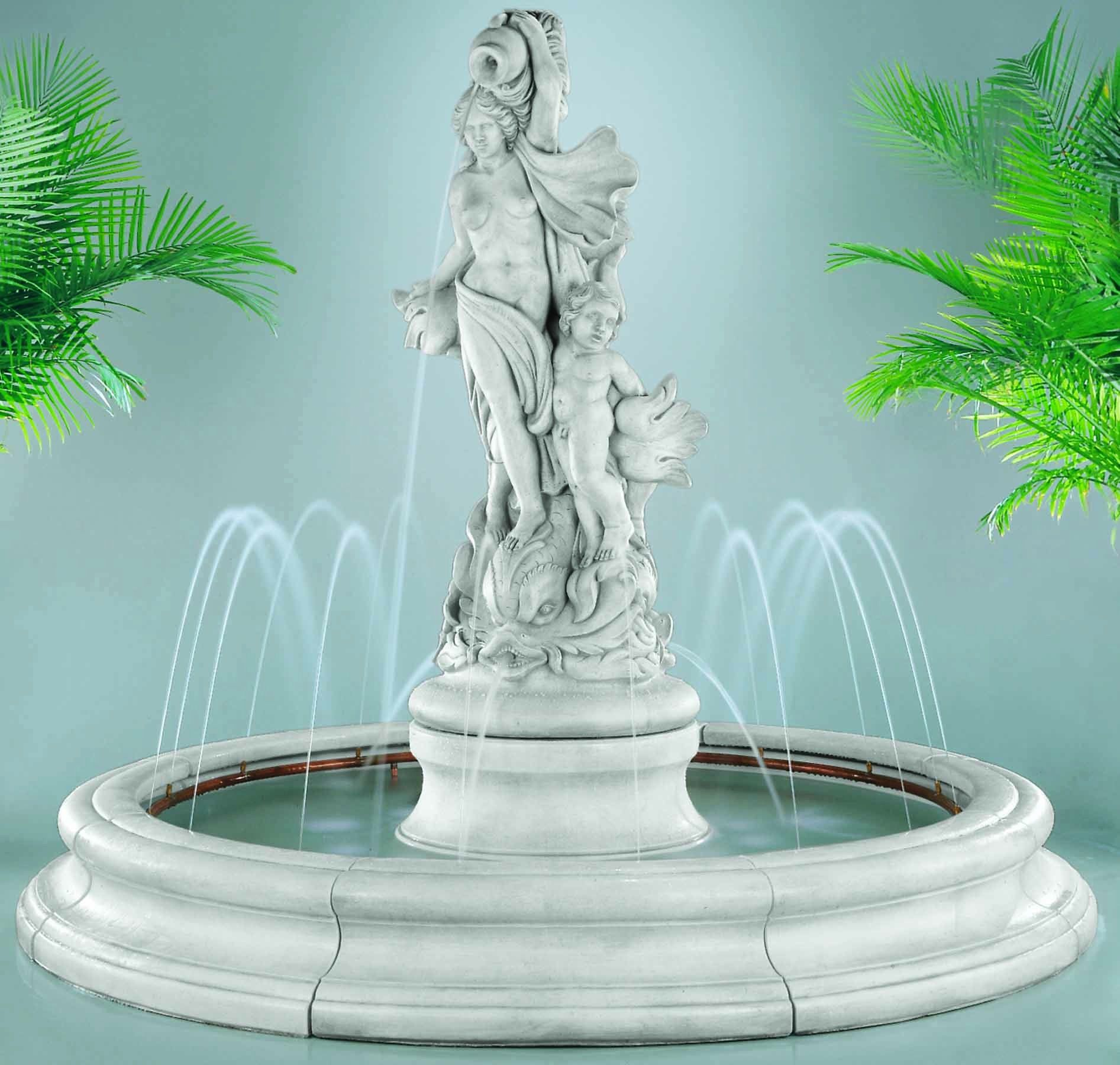 This Lens Will Show You Some First Class Dolphin Fountain Ideas For Your  Garden Or Yard. On The Left   Venus With Dolphins Fountain Turn Your.