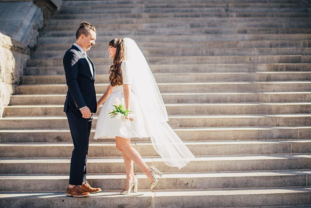 Kenzie + Tim Prescott, AZ Courthouse Wedding — Josh