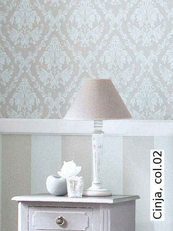 Cinja, col02 Tapeten, Schlafzimmer und Wandgestaltung - tapete schlafzimmer beige